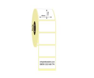 60mm x 40mm Termal Etiket